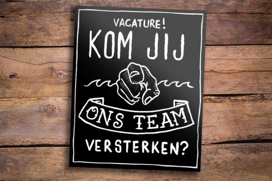 Vacature: Medewerker bediening
